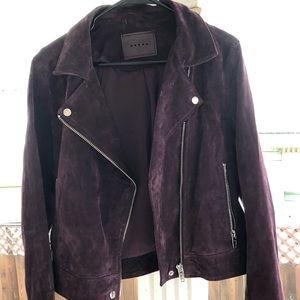 Suedo Moto Jacket